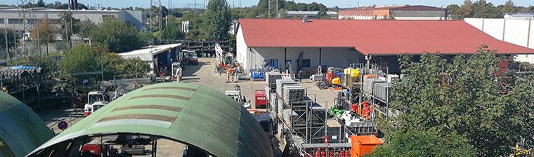 Firma Salchow & Berger Baubedarf GmbH in Altheim