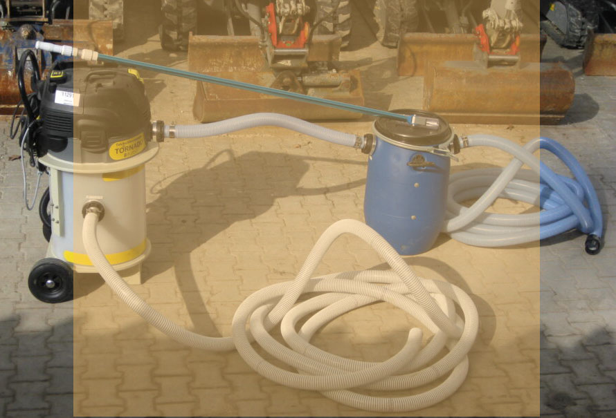 Teichschlammsauger – Tornado Biturbo