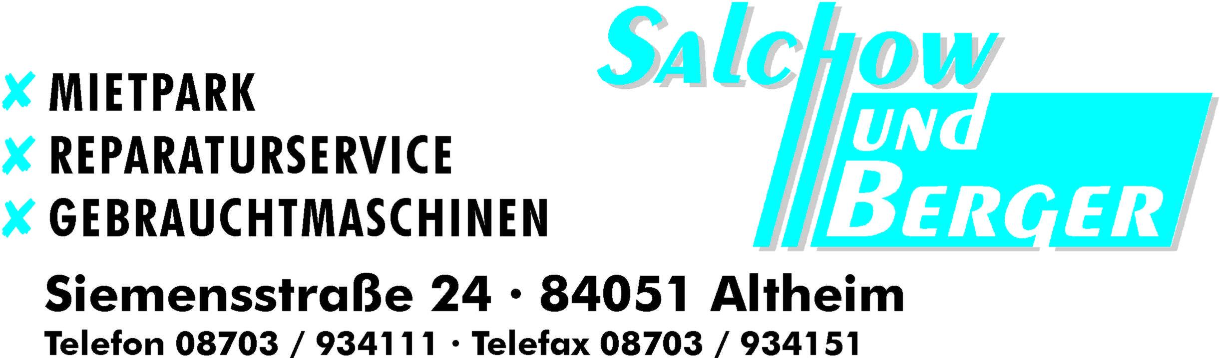 Logo der Firma Salchow & Berger Baubedarf GmbH in Altheim